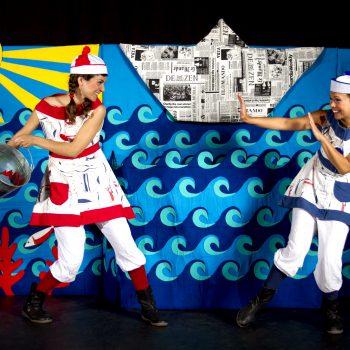 Contes de la Mediterrània de les Germanes Baldufa - Tanaka Teatre
